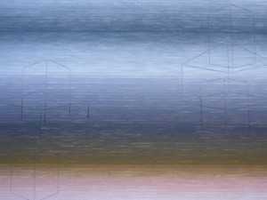 Two Vanishing Forms, 2010, 24x32cm